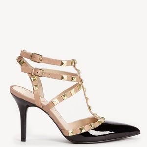 Sole Society Studded T Strap Heels